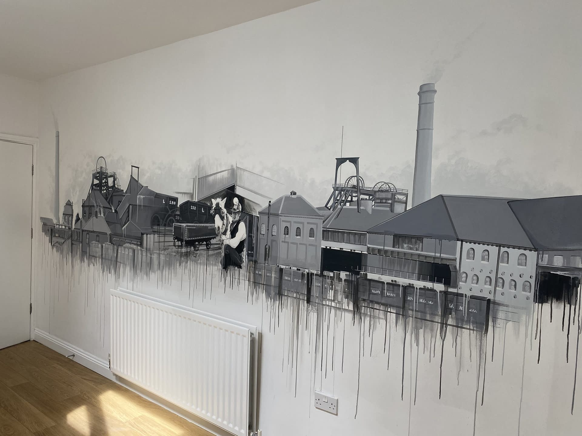 Stanley, Co Durham Mining History Mural