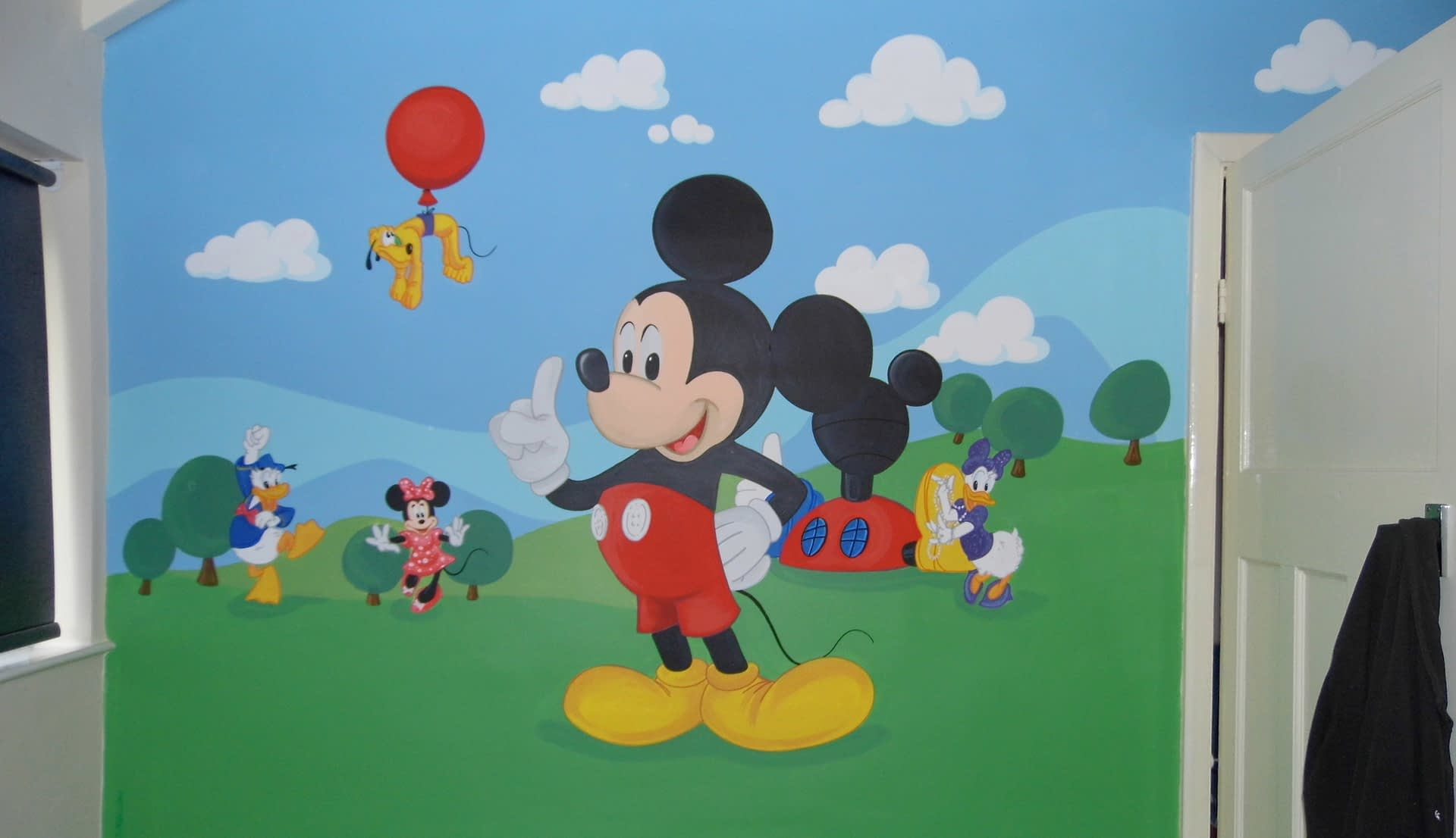 Mickey Mouse Club house Mural