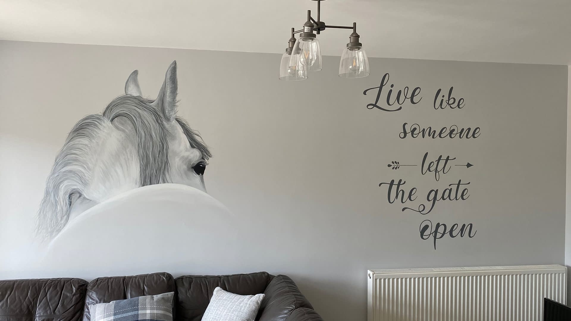 Horse And Quote