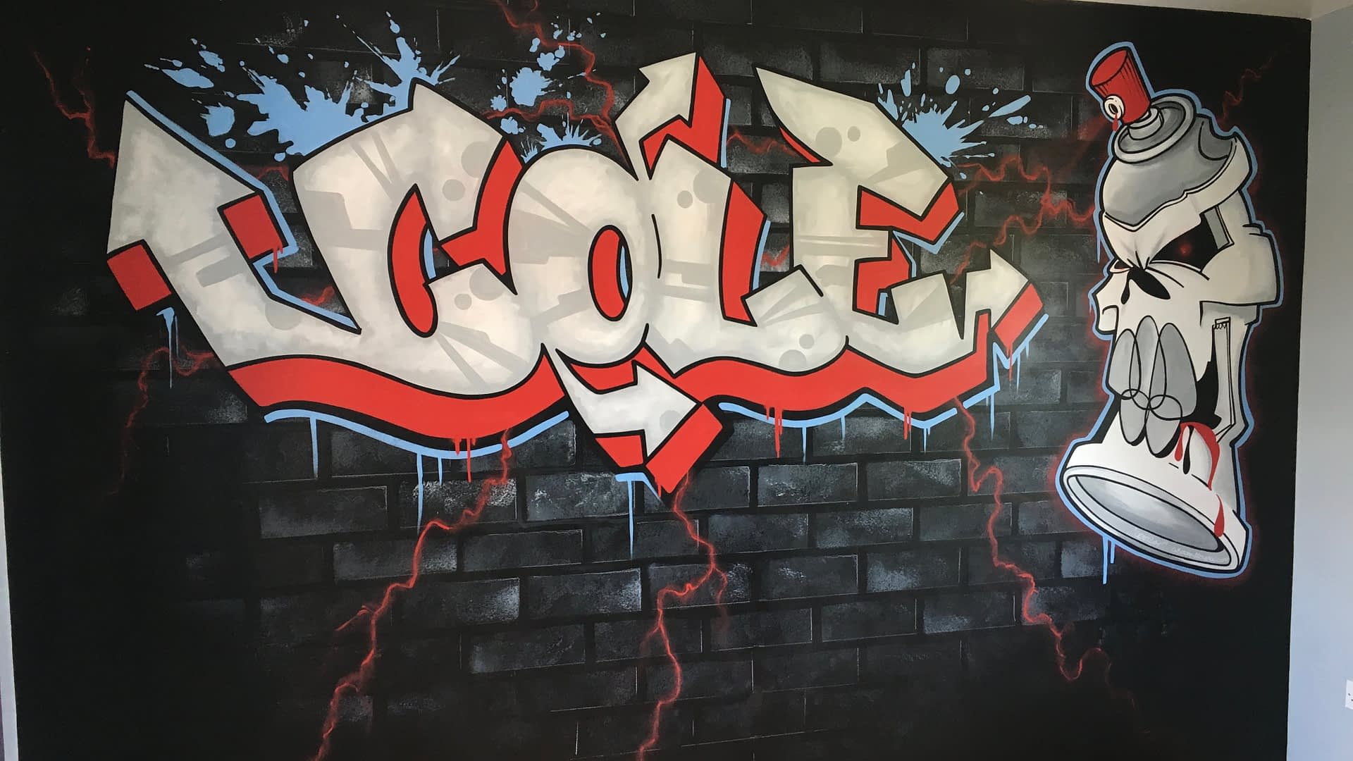 Cole Graffiti Mural