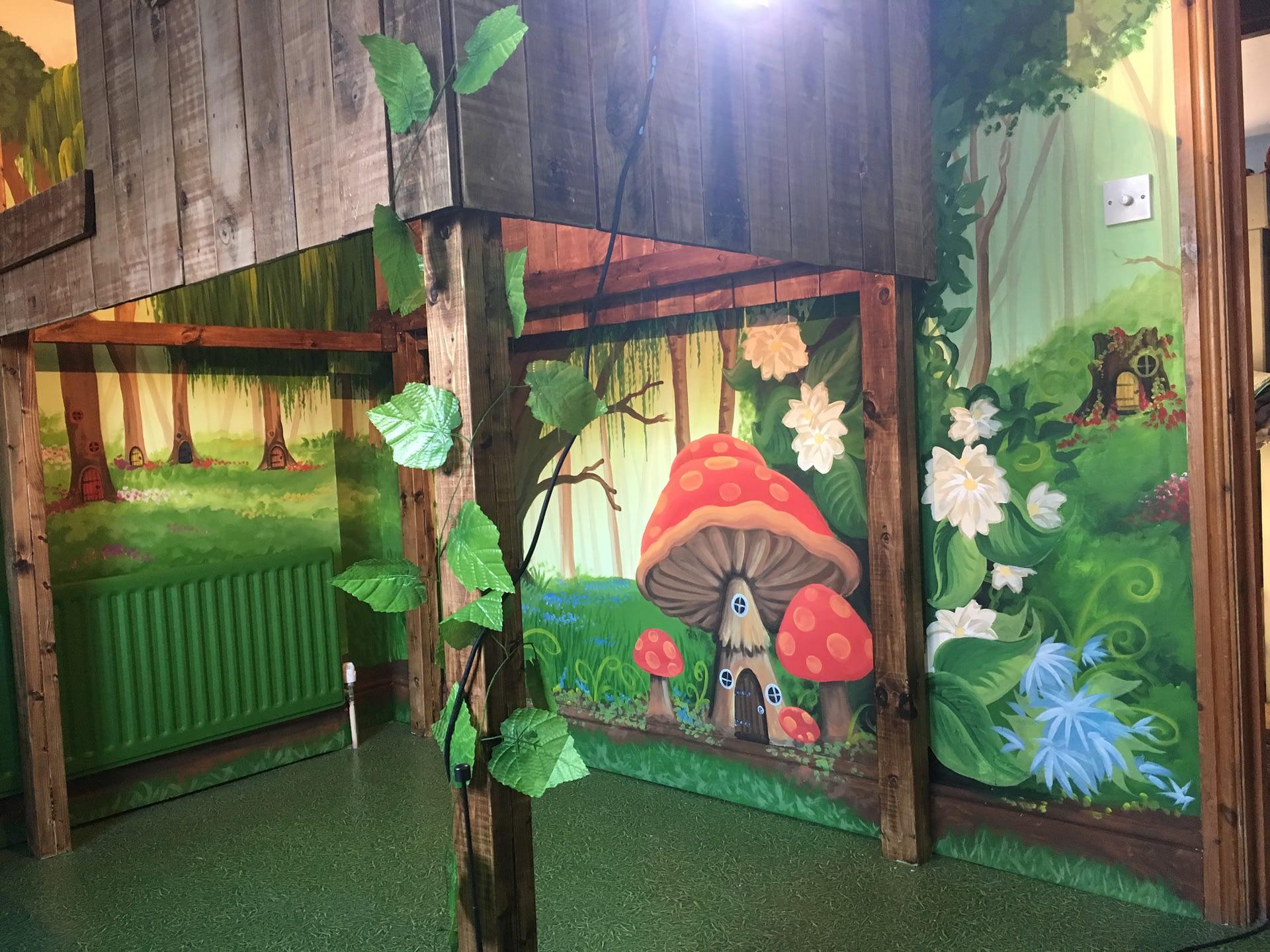Fairy Garden Mural