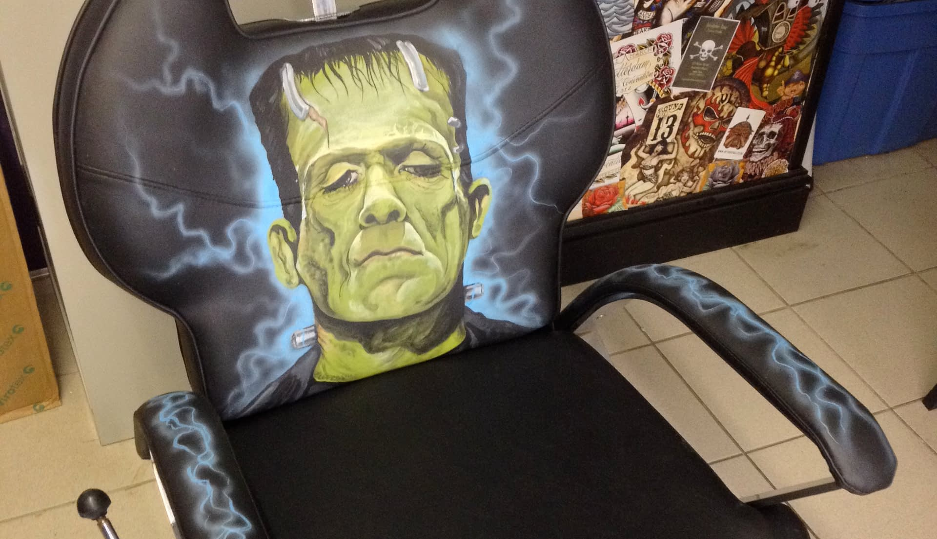 Frankenstein Studio Chair