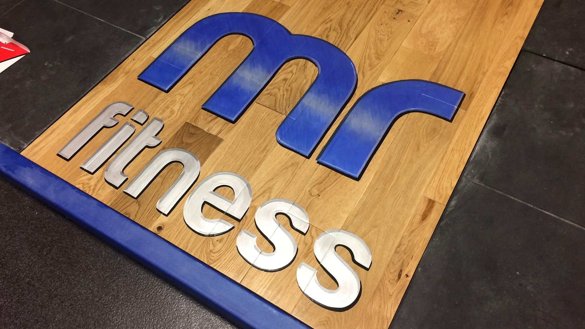 Mr Fitness Logo
