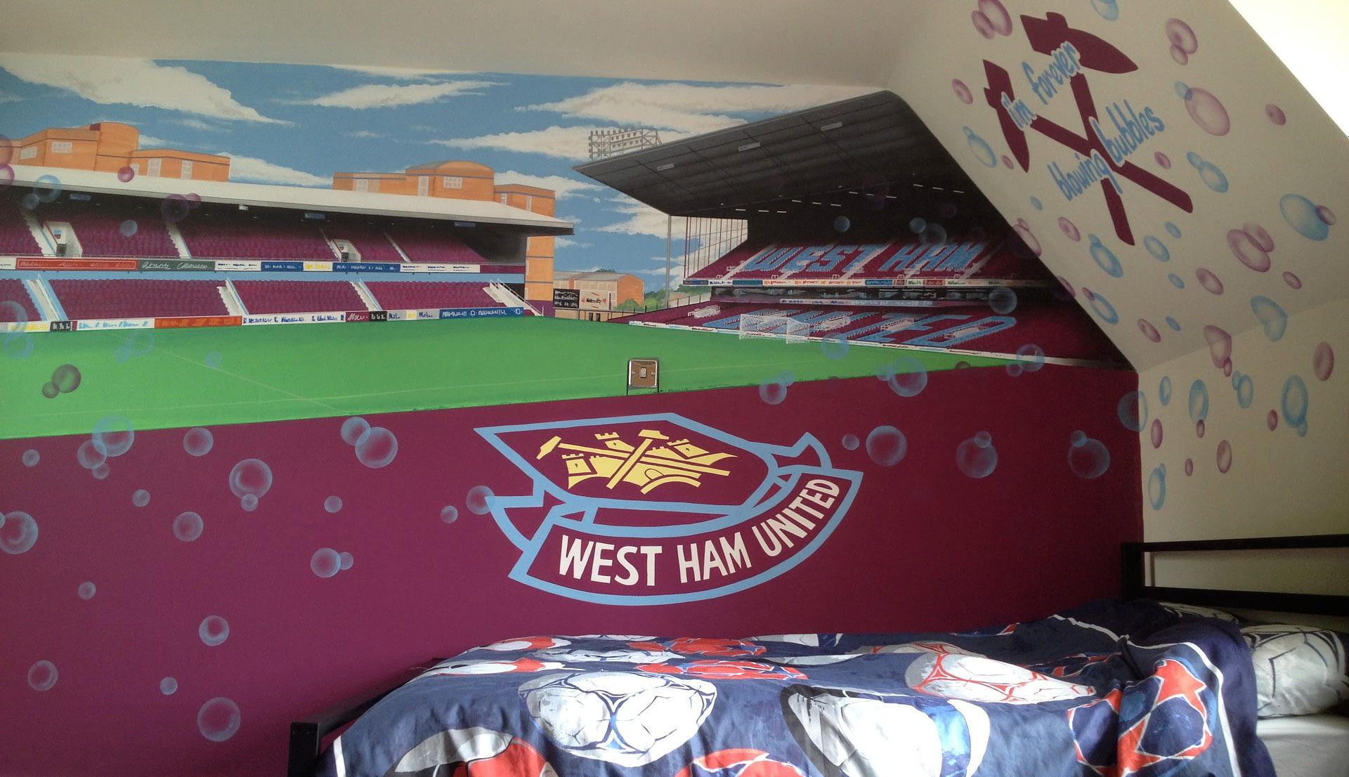 West Ham Mural
