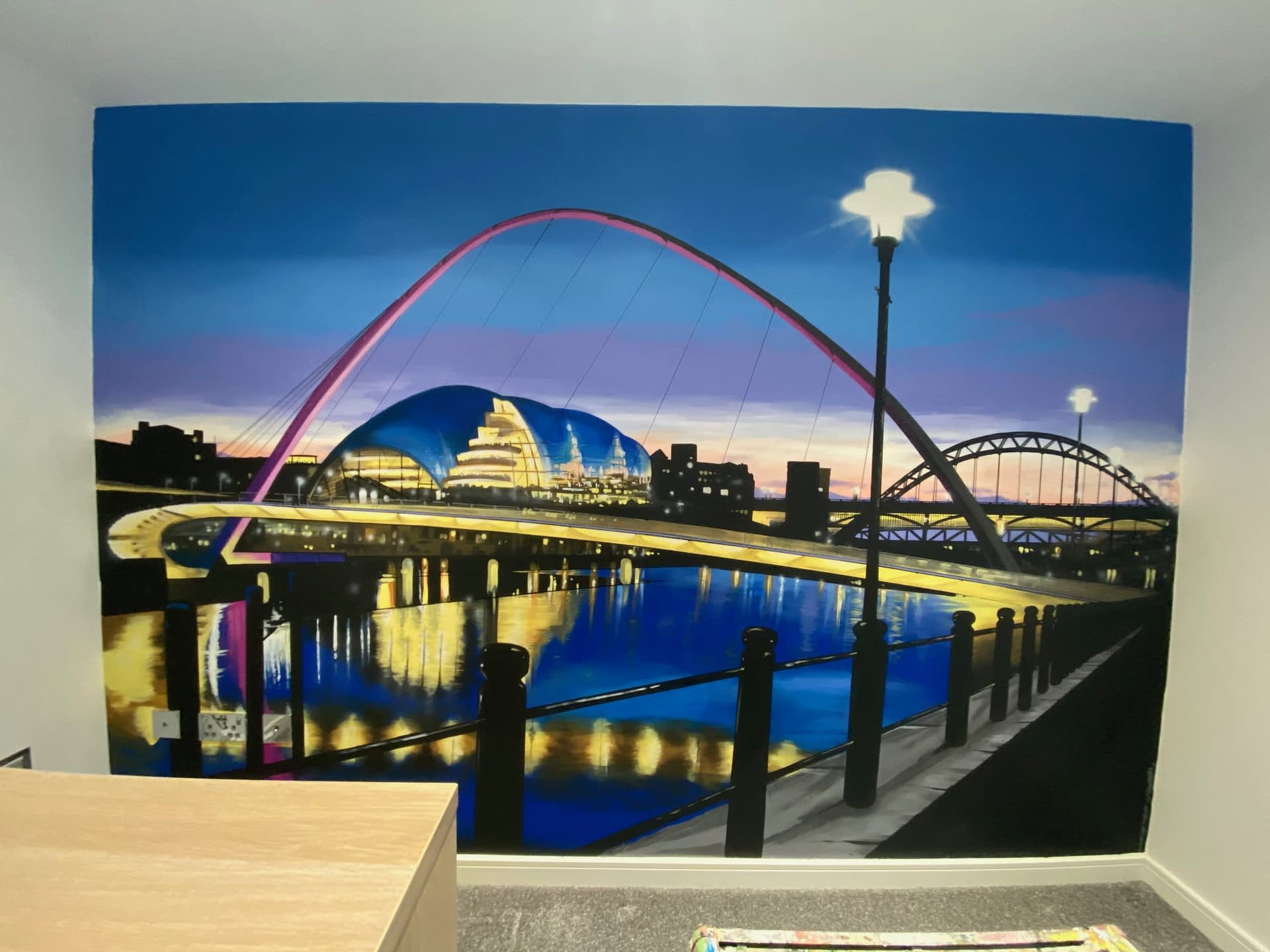 Quayside View Mural