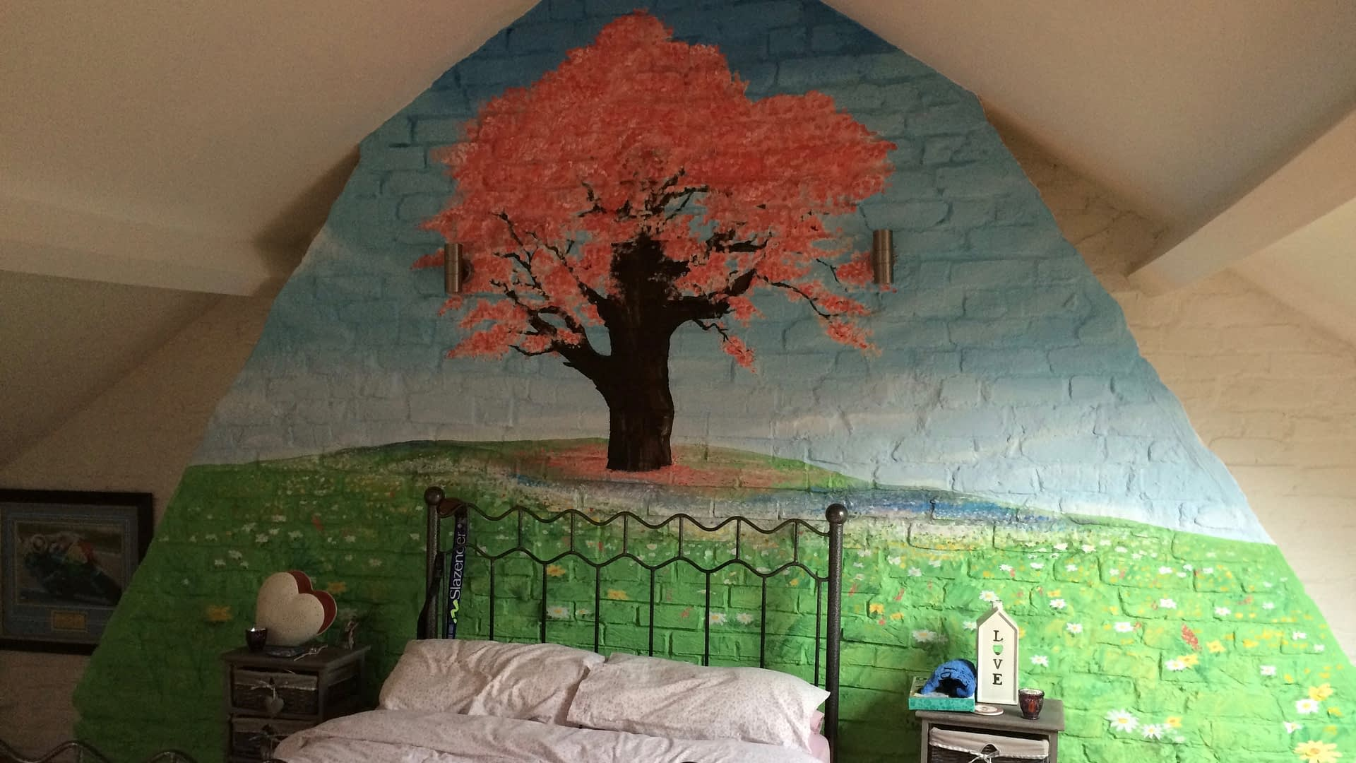 Blossom And Wildflower Mural