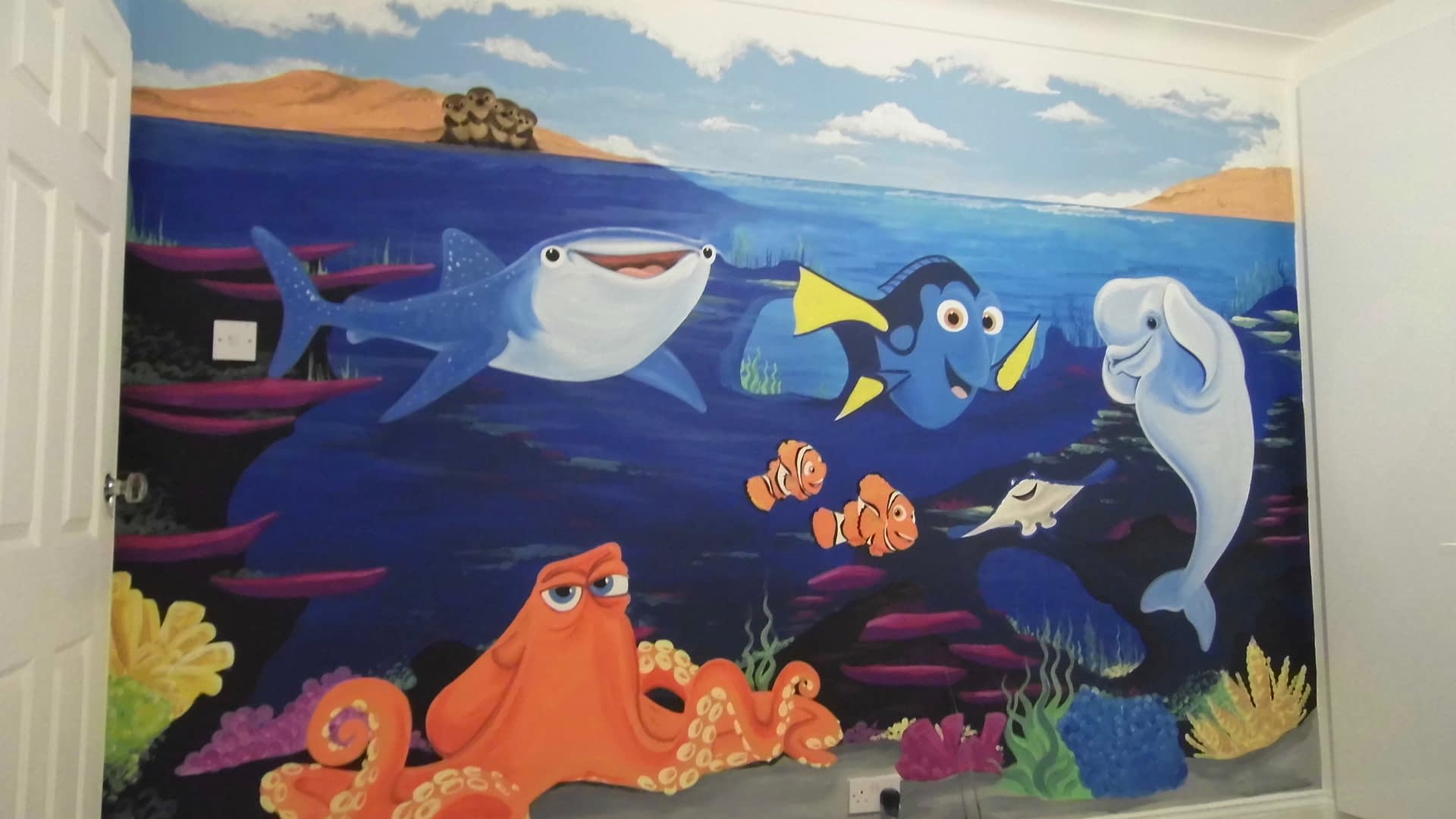 Nemo & Dory Room theme 1