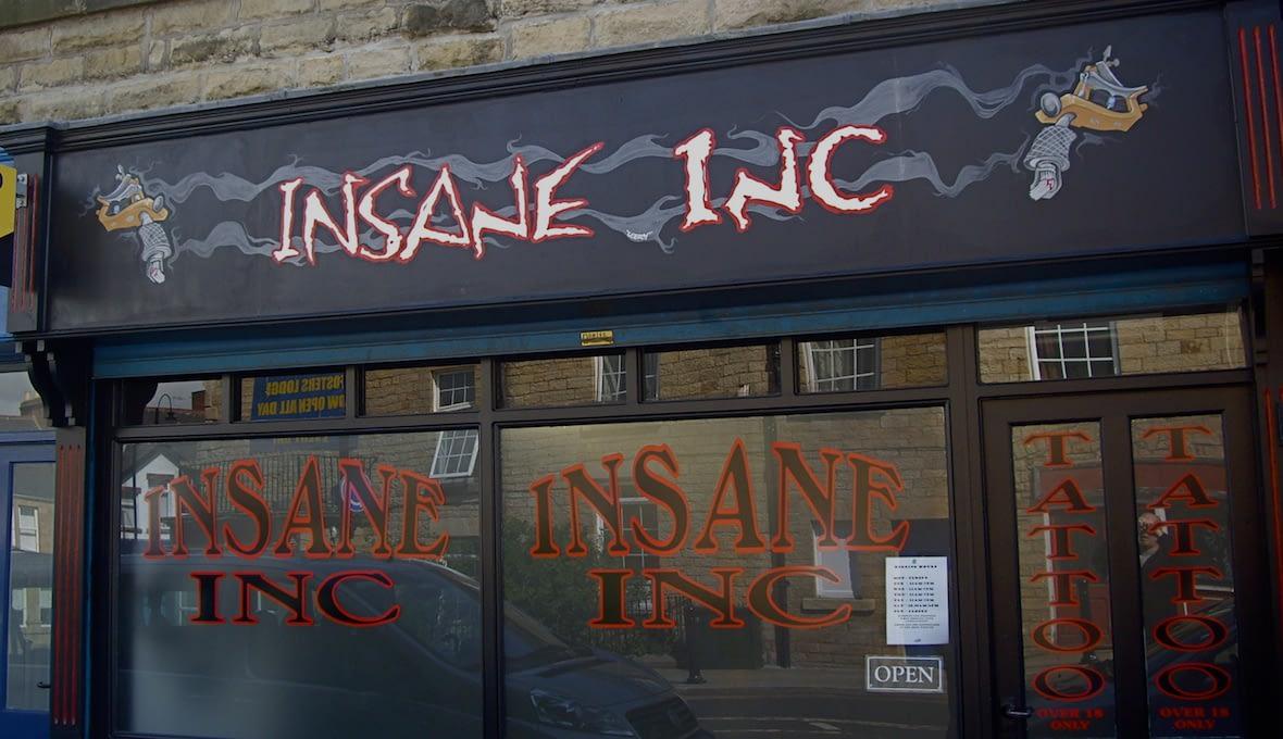 Insane Inc Tattooist