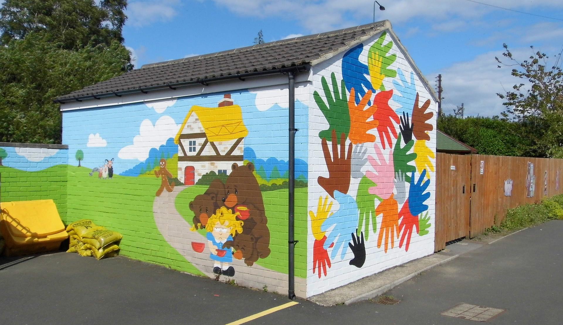 Nursery Entrance Mural