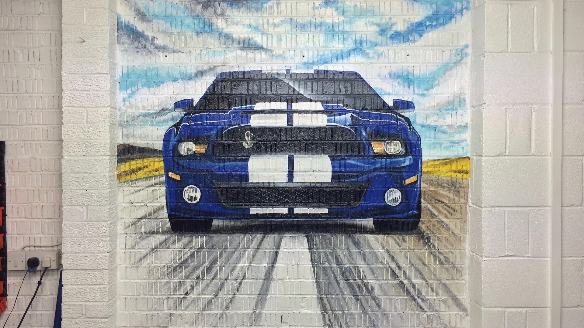 GT 500 Mural