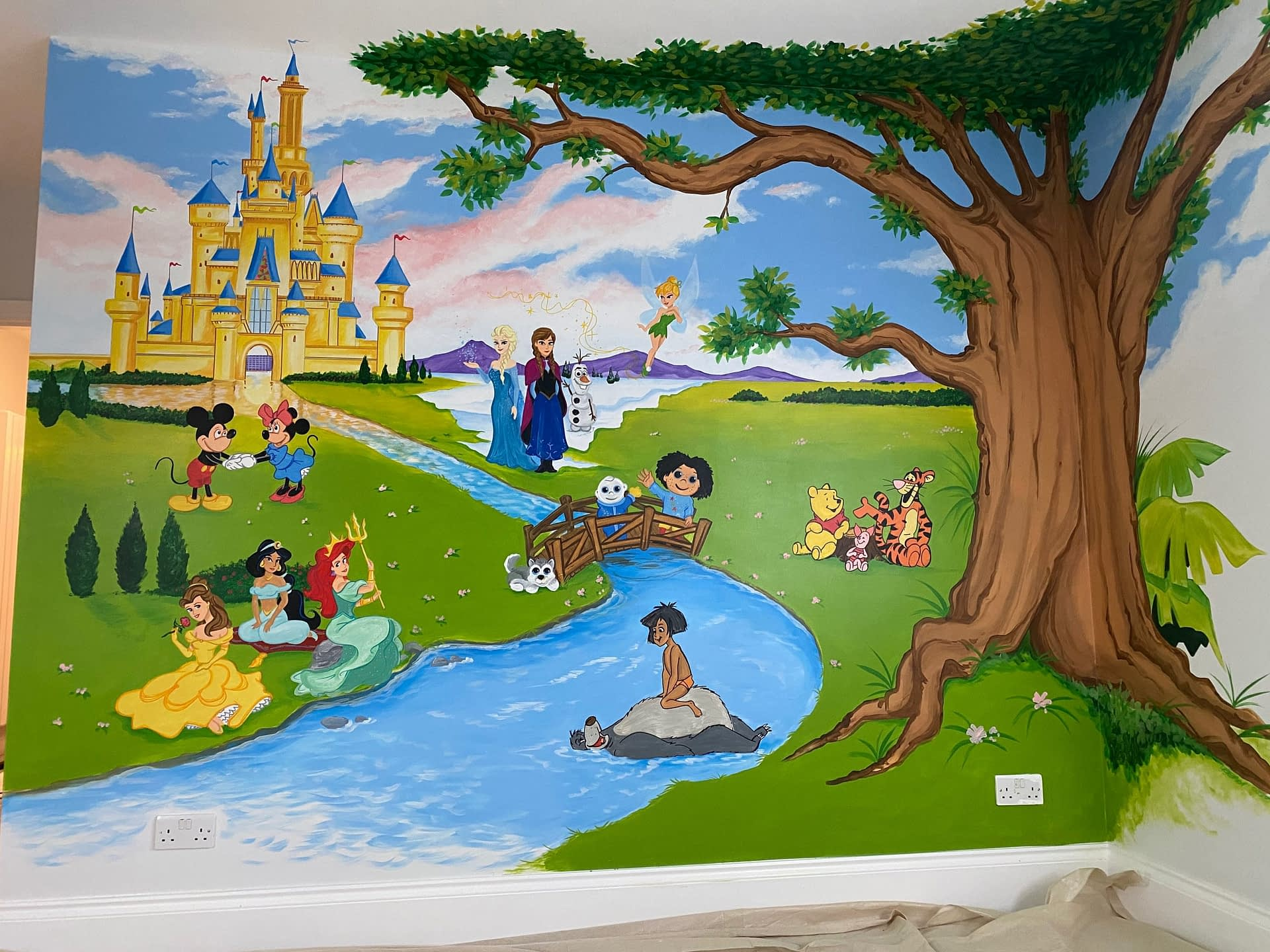 Disney Collection Mural