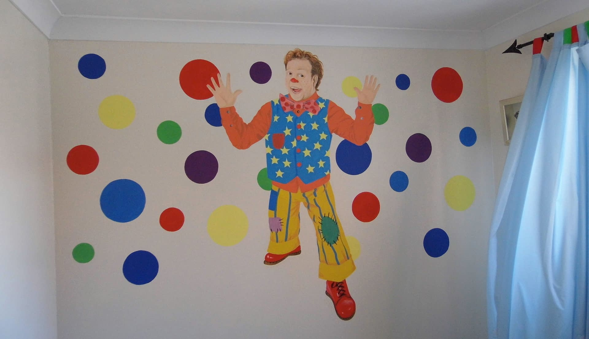 Mr Tumble Wall mural
