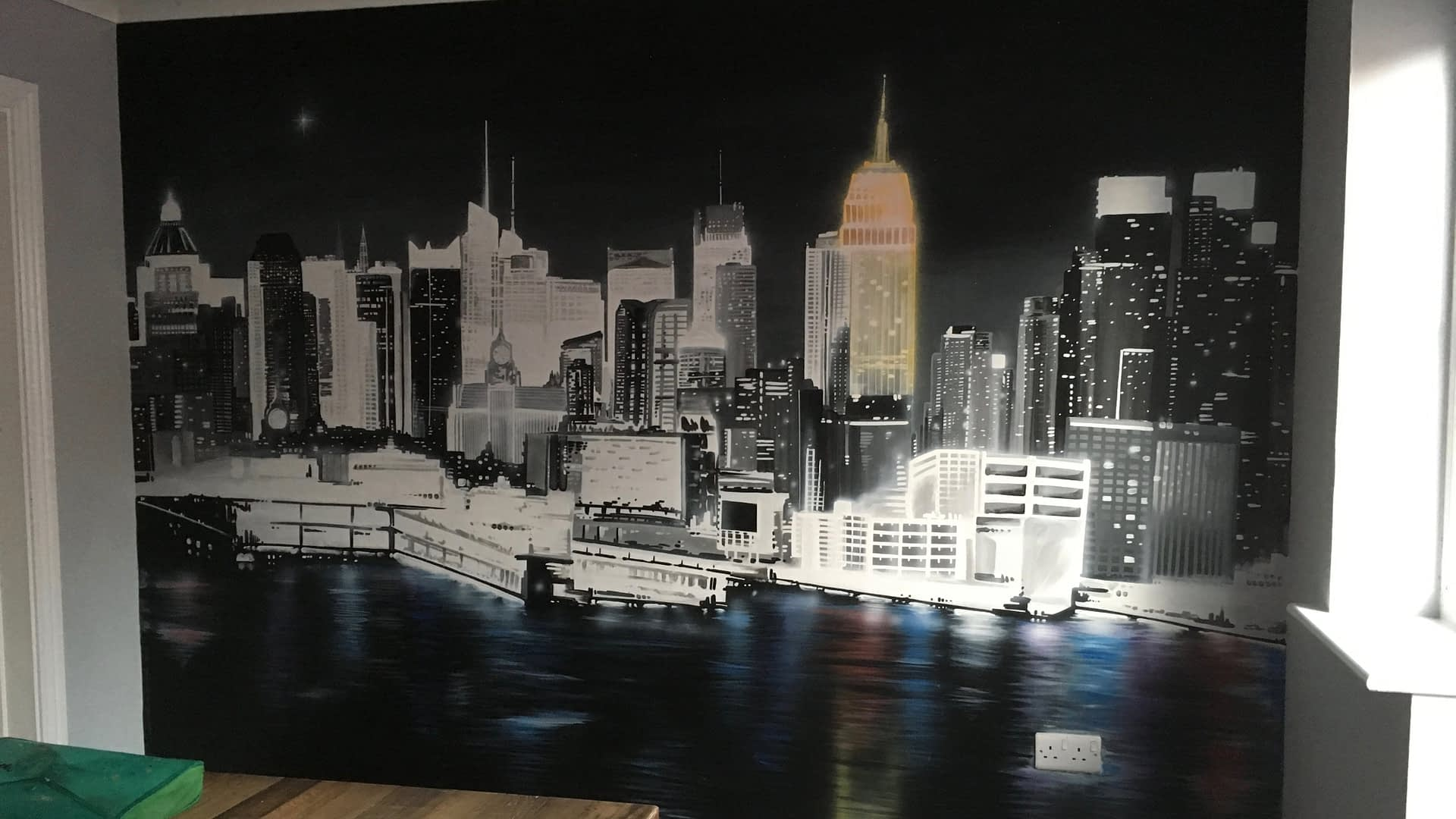 NYC Manhattan Mural