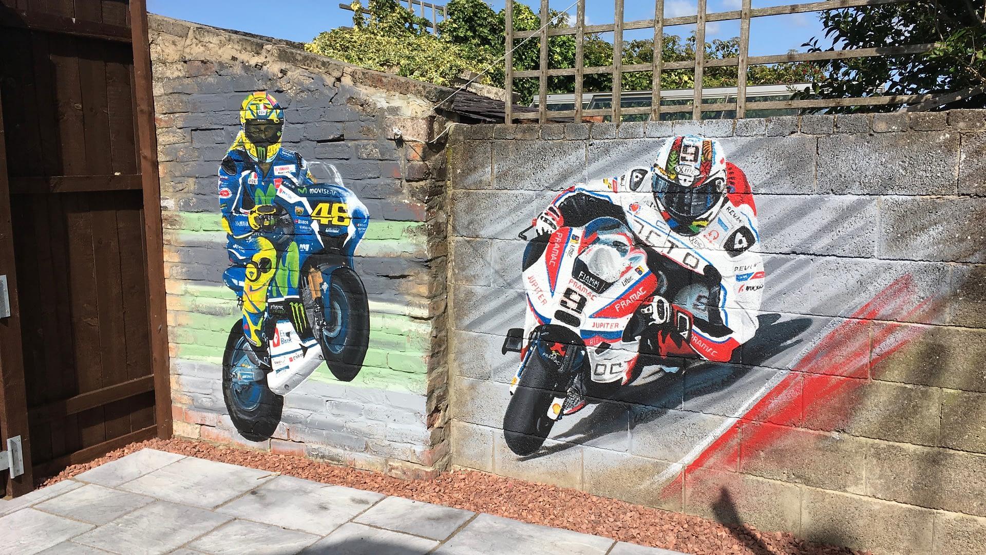 MotoGP Mural