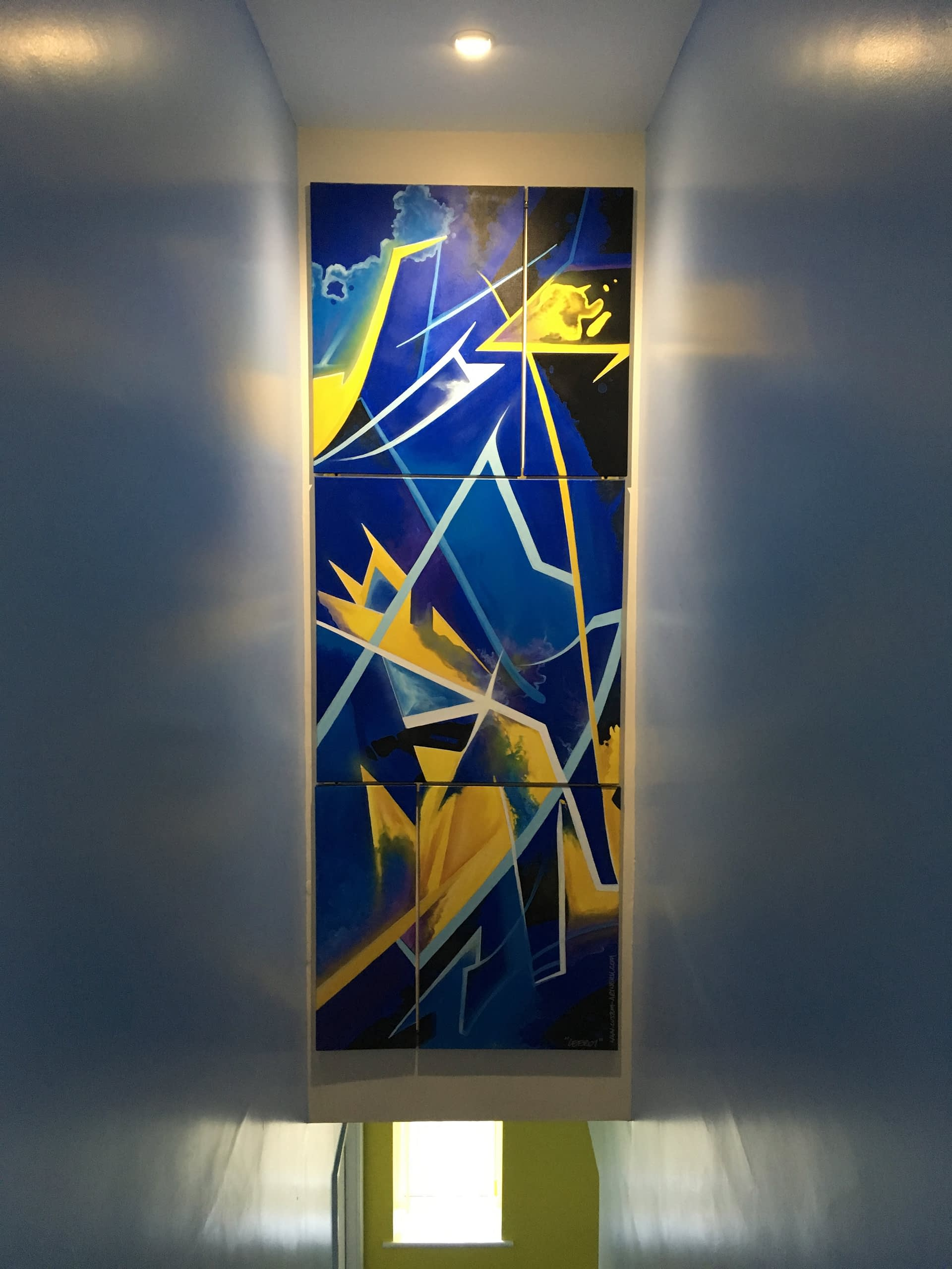 Abstract Graffiti Canvas set